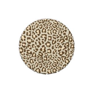Leopard Print Brown, Tan, Peach Candy Tin