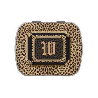 Leopard Print Candy Tin