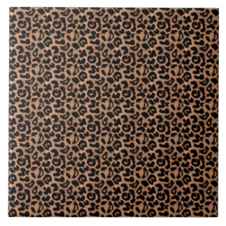 Leopard Print Ceramic Tile
