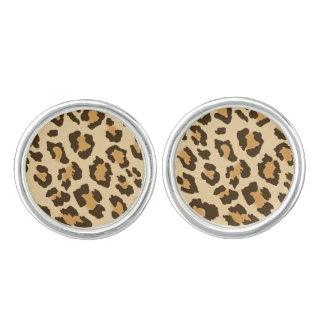 Leopard Print Cufflinks