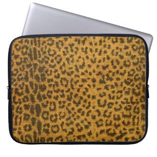 Leopard Print Electronics Sleeve Computer Sleeve