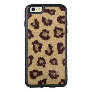 Leopard Print Faux-Fur OtterBox iPhone 6/6s Plus Case