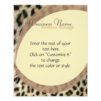 Leopard Print Flyer