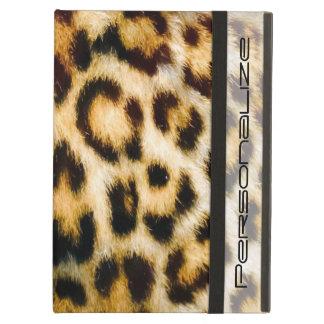 Leopard Print Fur Chic Texture Pattern iPad Air Covers