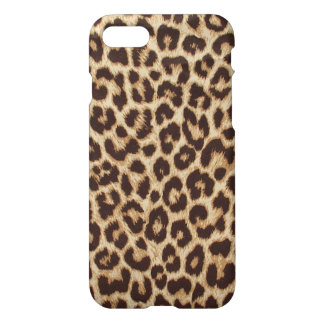 Leopard Print Glossy iPhone 7 Case