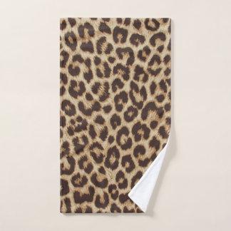 Leopard Print Hand Towel