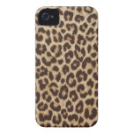 Leopard print iphone4  barely there case iPhone 4 Case-Mate case