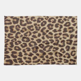 Leopard Print Kitchen Towel