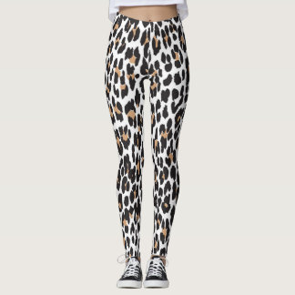LEOPARD PRINT LADIES LEGGINGS