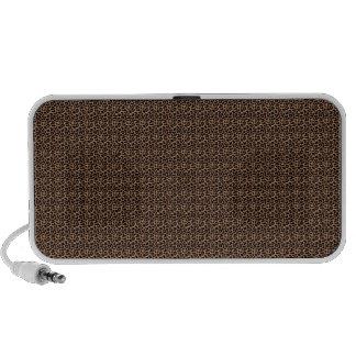 Leopard Print Laptop Speakers