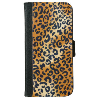 Leopard Print Look iPhone 6 Wallet Case