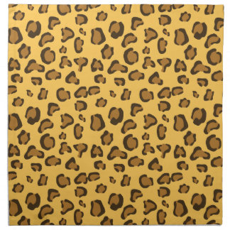 Leopard Print Look-like Pattern Napkin