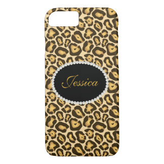 Leopard Print Monogram Phone & Ipad Case