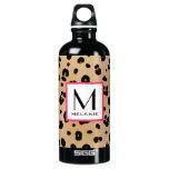 Leopard Print Monogram SIGG Traveller 0.6L Water Bottle
