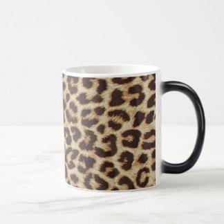 Leopard Print Morphing Mug