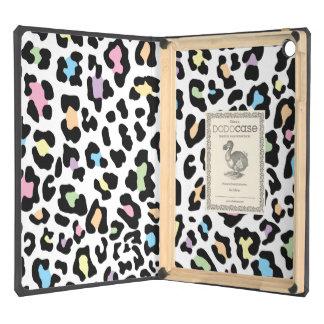 Leopard Print Multi Colors Case For iPad Air