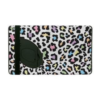 Leopard Print Multi Colors iPad Case