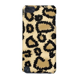 Leopard Print Pattern, Brown and Black. iPod Touch 5G Case