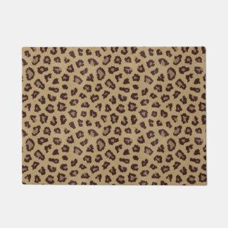 Leopard Print Pattern Doormat