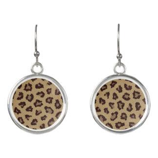 Leopard Print Pattern Earrings