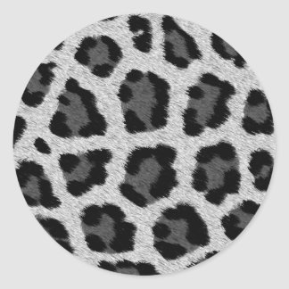 Leopard Print Pattern Sticker