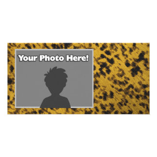 Leopard Print Photo Cards