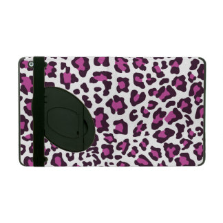 Leopard Print Purple Cases For iPad