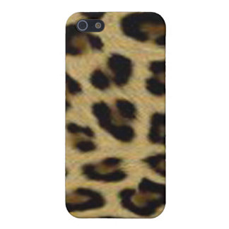 Leopard Print Savvy iPhone 5 Matte Finish Case Case For The iPhone 5