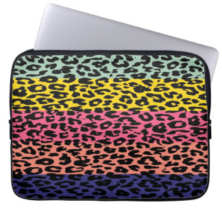 Leopard Print Skin Stripe Pattern 9 Laptop Computer Sleeves