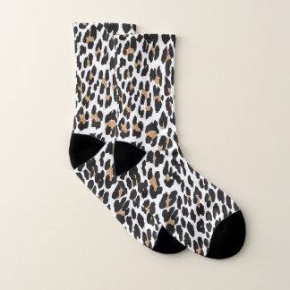 Leopard Print Socks 1