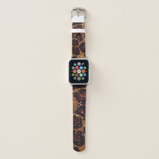 Leopard Print Sparkle Apple iWatch Band