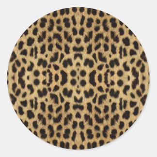 Leopard print Stickers
