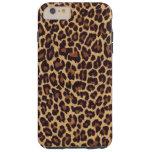 Leopard Print Tough iPhone 6 Plus Case