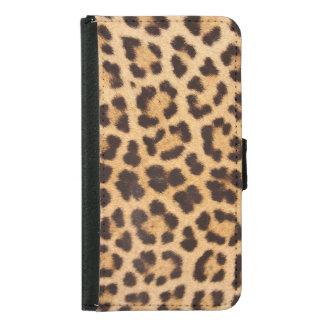 Leopard Print Wallet Case (Galaxy Phone)