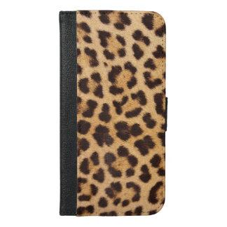 Leopard Print Wallet Case (iPhone)