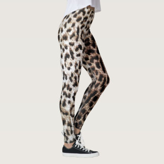 Leopard Print Wildlife Animal Print Leg stockings Leggings