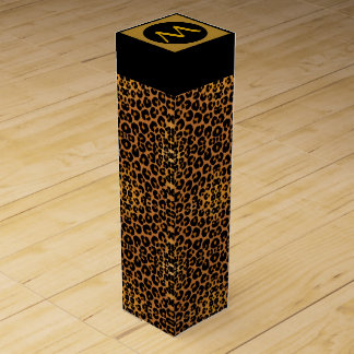 Leopard Print Wine Box