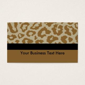 leopard print with black stripe