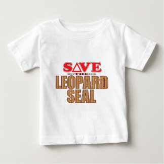 Leopard Seal Save Baby T-Shirt