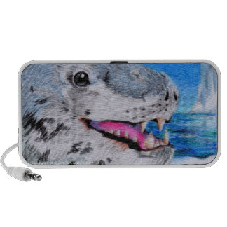 Leopard Seal PC Speakers