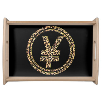 Leopard ¥ serving tray