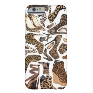 Leopard Shoe Chic Barely There iPhone 6 Case