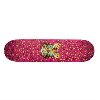 Leopard Skate Board