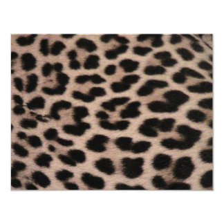 Leopard Skin background Invitations