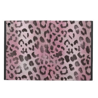 leopard Skin in Rose Pink iPad Air Covers