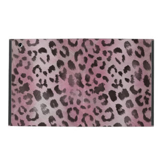leopard Skin in Rose Pink iPad Folio Case