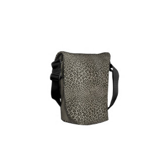 Leopard Skin Look  Exotic Animal Print Commuter Bags