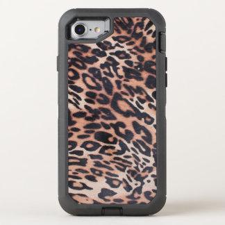 Leopard Skin OtterBox Defender iPhone 8/7 Case