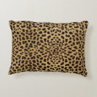 Leopard Skin Pattern Decorative Cushion