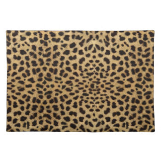 Leopard Skin Pattern Placemat